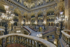 France, Paris (75), opéra Garnier, l'escalier // France, Paris, Garnier opera house, the stairway