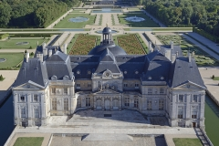 France, Seine-et-Marne (77), Maincy, le château de Vaux-le-Vicomte (vue aérienne) // France, Seine-et-Marne, Maincy, the castle of Vaux-le-Vicomte (aerial view)